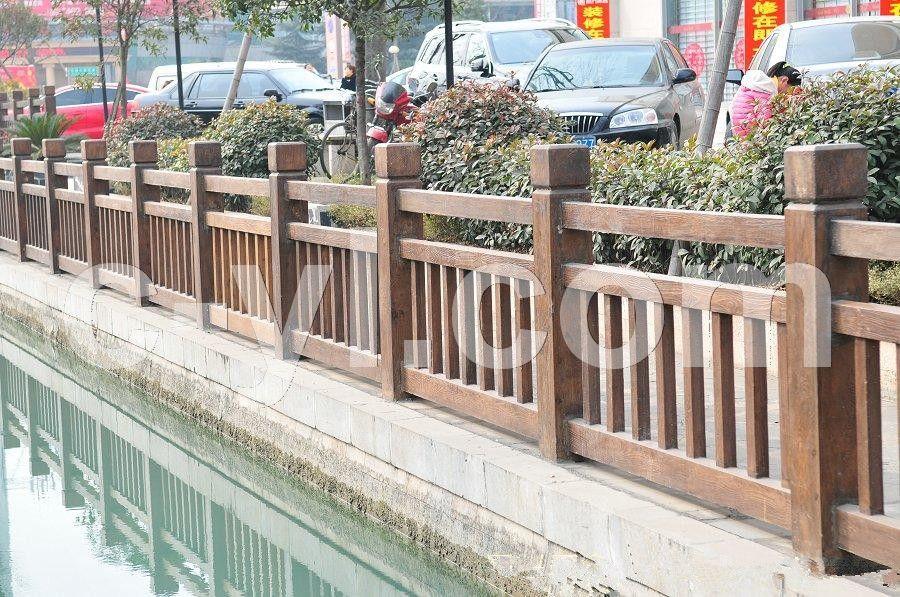 四川仿木栏杆 假树枝仿木栏杆